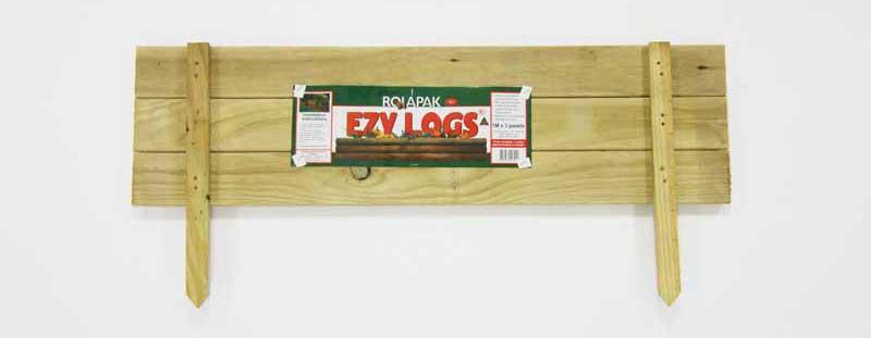 ezy-logs-garden-edging