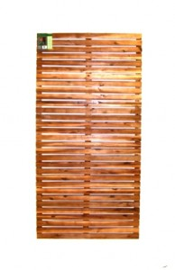 hardwood slat screen
